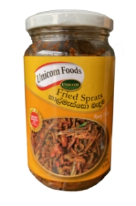 Picture of UNICOM Chili Fried Sprats Dry Fish 200g