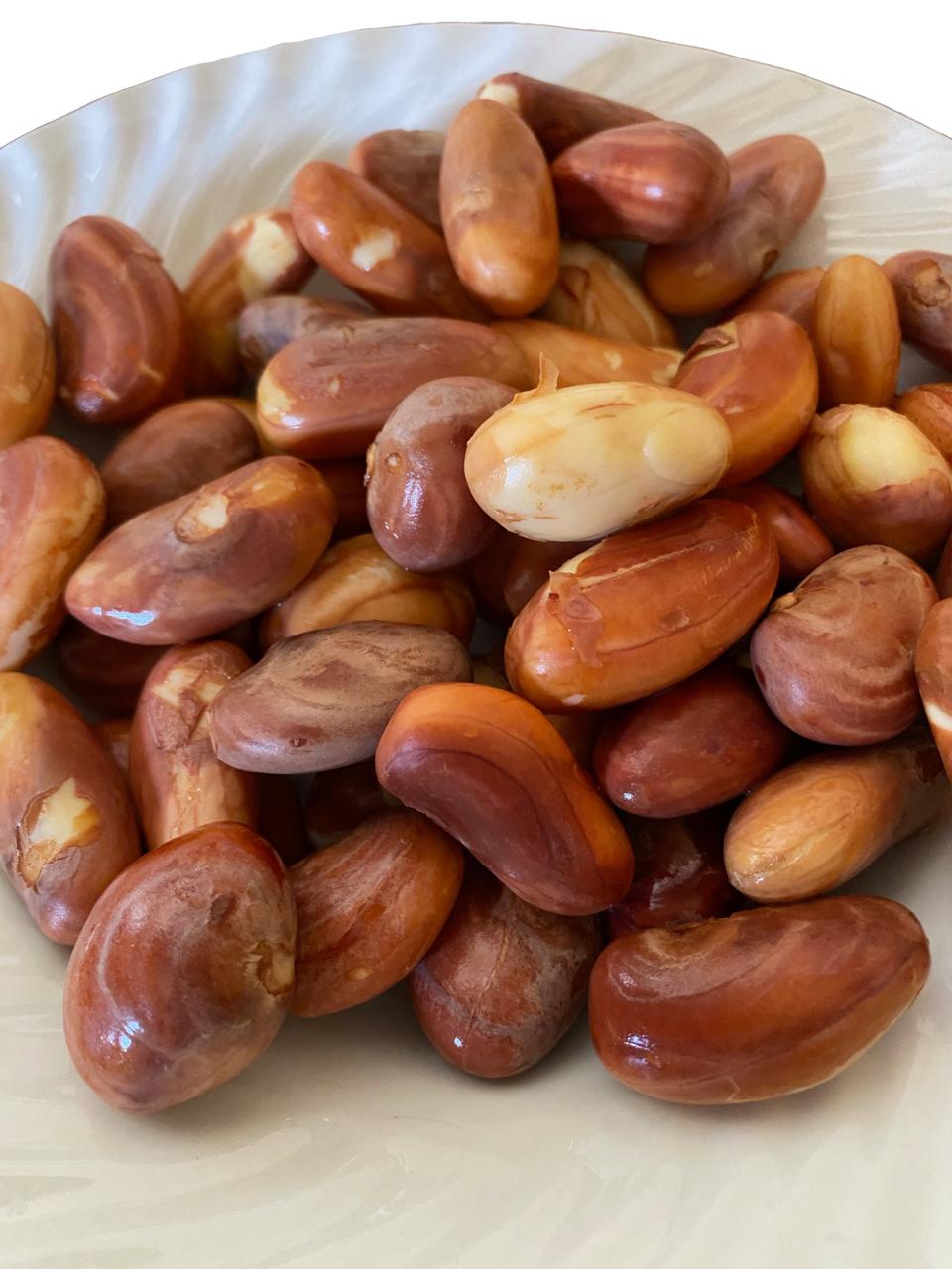 Jack seeds in brine
